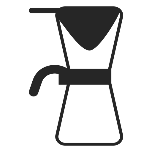 Coffee maker stroke icon Transparent PNG