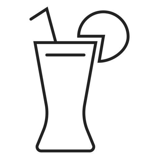 Coke with lemon glass icon Transparent PNG