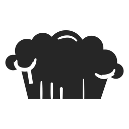 Icono plano de sombrero de cocina