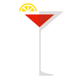 Cosmopolitan cocktail icon