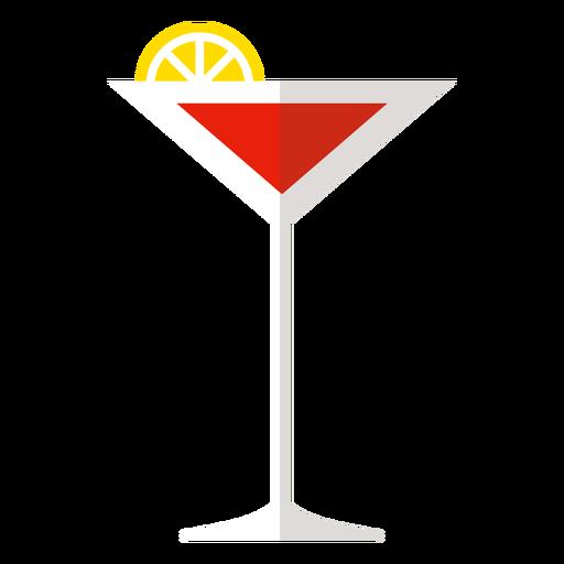 Cosmopolitan cocktail icon Transparent PNG