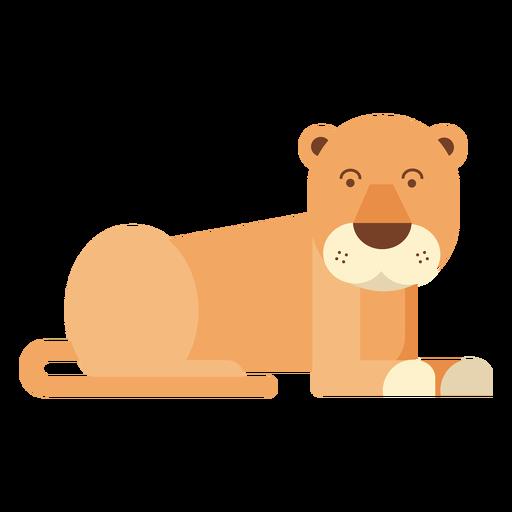 Ilustracion de puma Transparent PNG