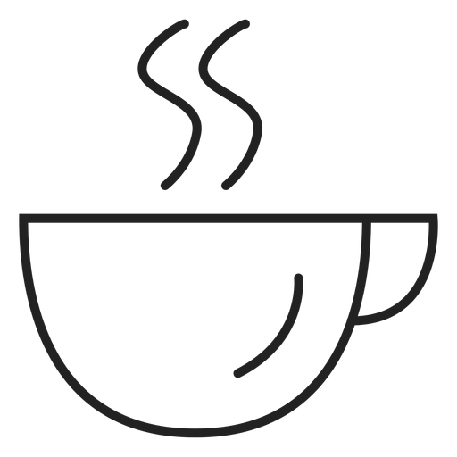 Coupe coffee cup icon Transparent PNG