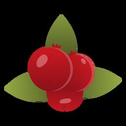 Ilustração de cranberries