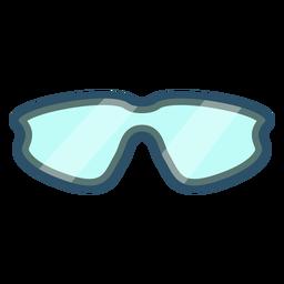 Ícone de óculos de ciclismo