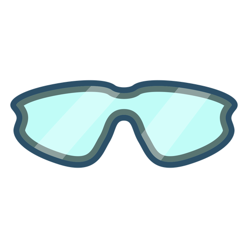 Cycling glasses icon Transparent PNG