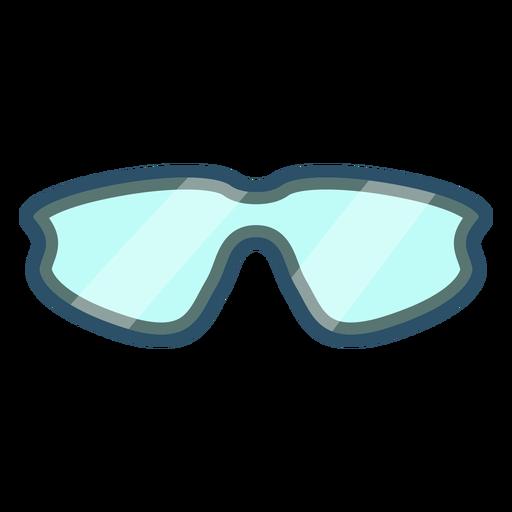 Icono de gafas de ciclismo Transparent PNG