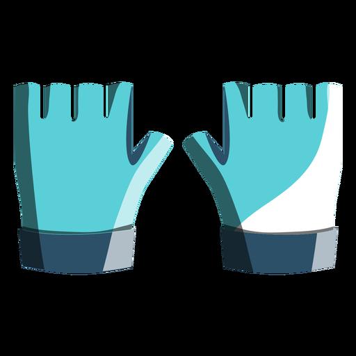 Ícone de luvas de ciclismo Transparent PNG
