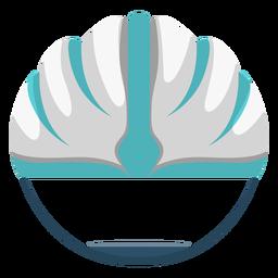 Cycling helmet icon