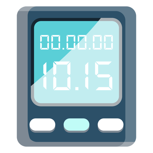 Cycling watch icon Transparent PNG