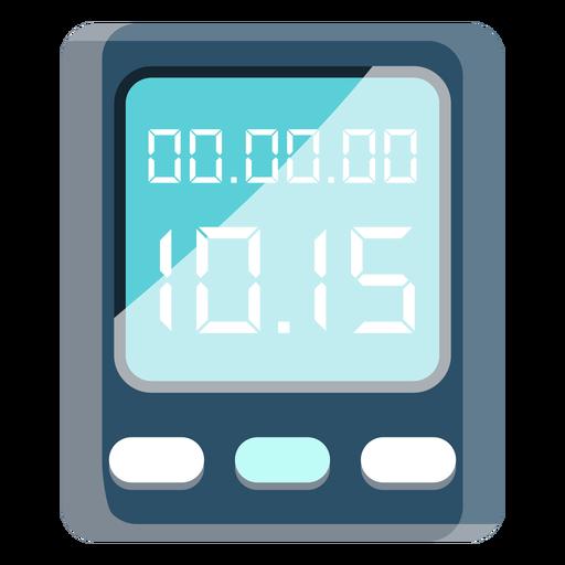 Icono de reloj ciclista Transparent PNG