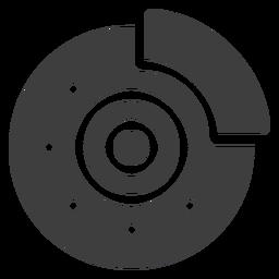 Ícone do freio de disco