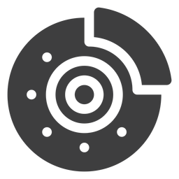 Icono de freno de disco