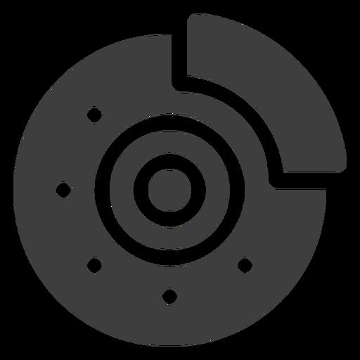 Ícone do freio de disco Transparent PNG