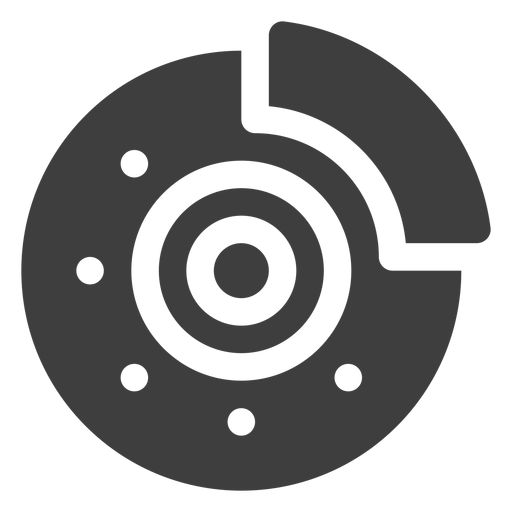 Disk brake icon Transparent PNG