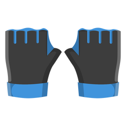 Diving gloves icon