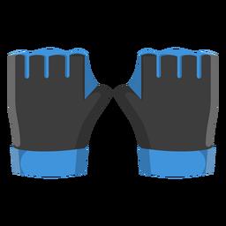 Icono de guantes de buceo.