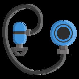 Diving regulator icon