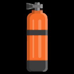 Icono de tanque de buceo
