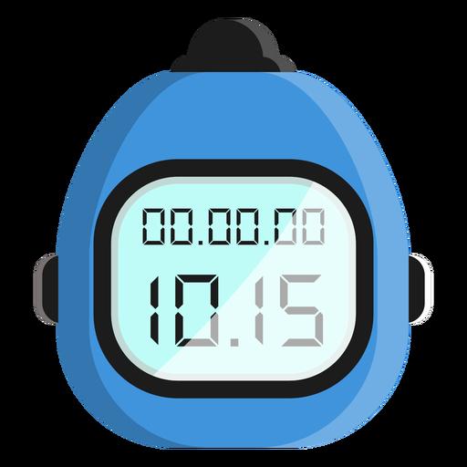 Icono de reloj de buceo Transparent PNG