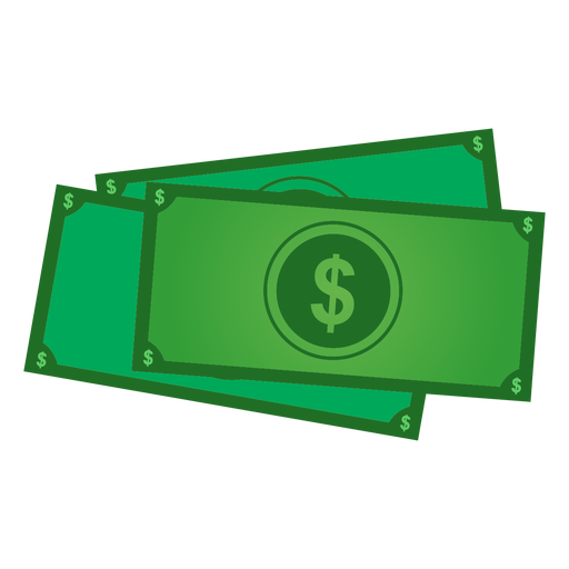 Dollar banknotes icon Transparent PNG