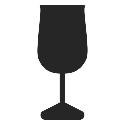Drink glass flat icon Transparent PNG