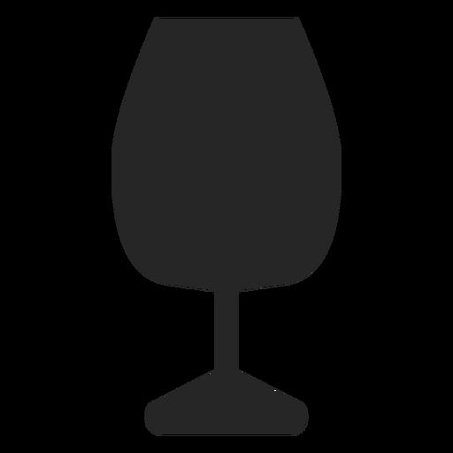 Icono plano de vaso para beber Transparent PNG