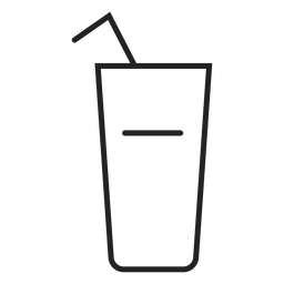 Trinkglas-Symbol