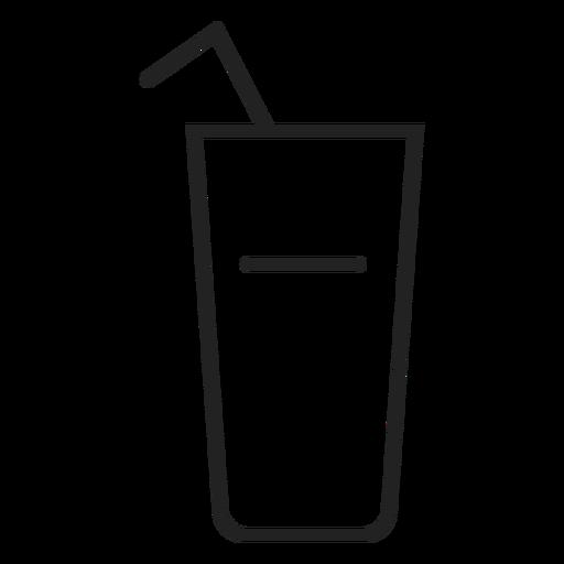 Icono de vaso de beber Transparent PNG