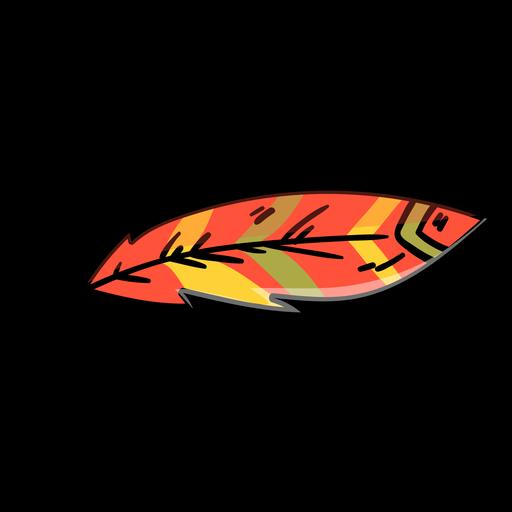 Icono de dibujos animados de plumas Transparent PNG