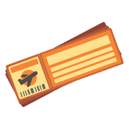 Flight ticket icon