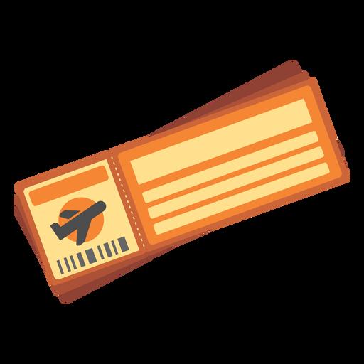 Ícone de passagem aérea Transparent PNG