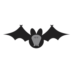 Flying fox bat illustration