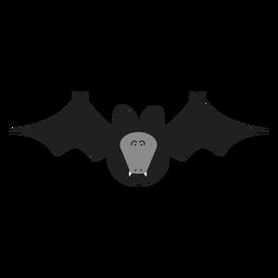 Ilustración de murciélago zorro volador
