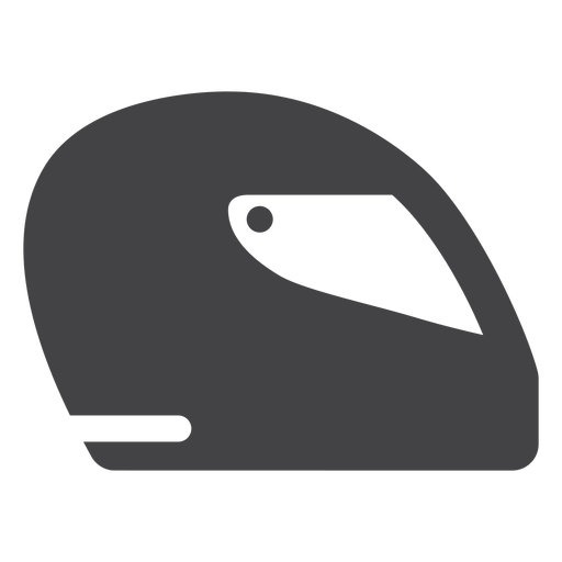 Fórmula casco plano icono Transparent PNG
