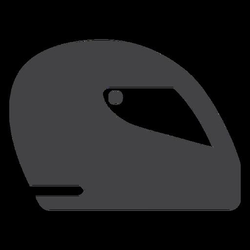 Formula helmet flat icon Transparent PNG