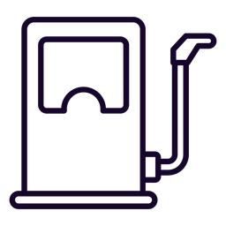 Fuel dispenser stroke icon