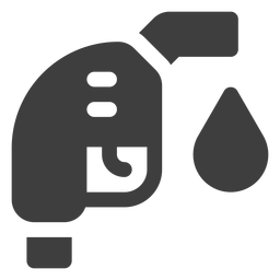 Icono de boquilla de combustible