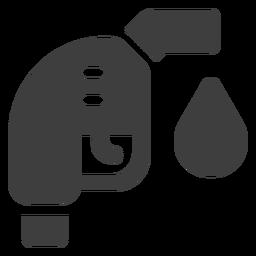 Icono de la boquilla de combustible