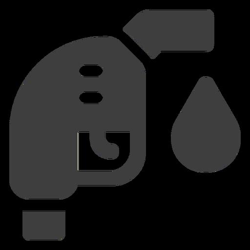Icono de la boquilla de combustible Transparent PNG