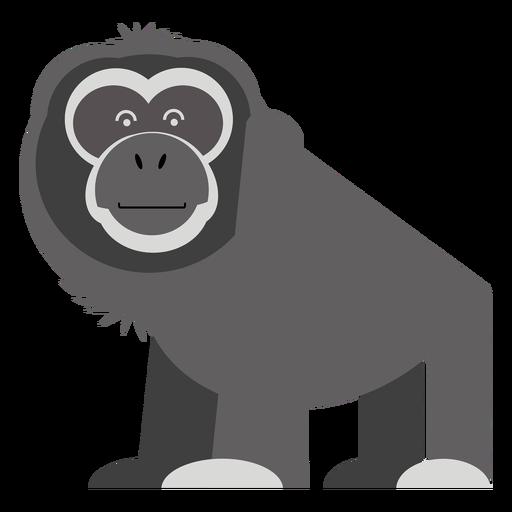 Ilustración de mono gibón Transparent PNG