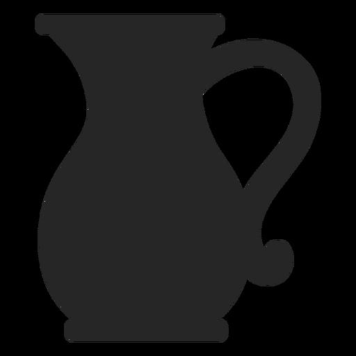 Jarra de vidrio plana icono Transparent PNG