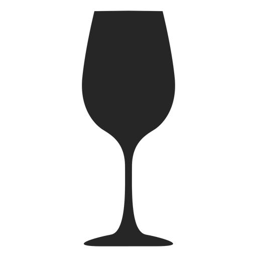 Goblet glass flat icon Transparent PNG