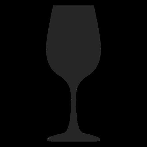 Icono plano de vidrio cáliz