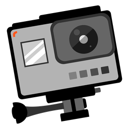 Gopro photo camera icon