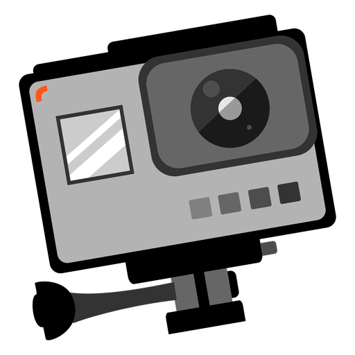 Gopro photo camera icon Transparent PNG