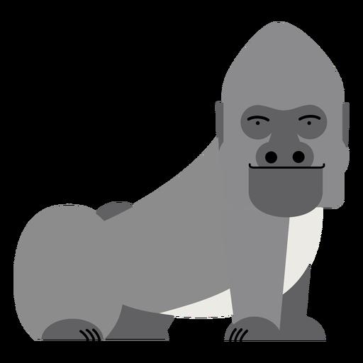 Gorilla Affe Abbildung Transparent PNG