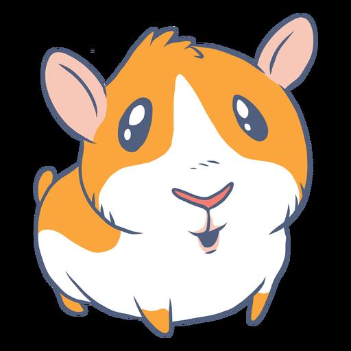 Dibujos animados de conejillo de indias