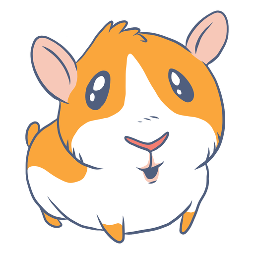 Guinea pig cartoon Transparent PNG