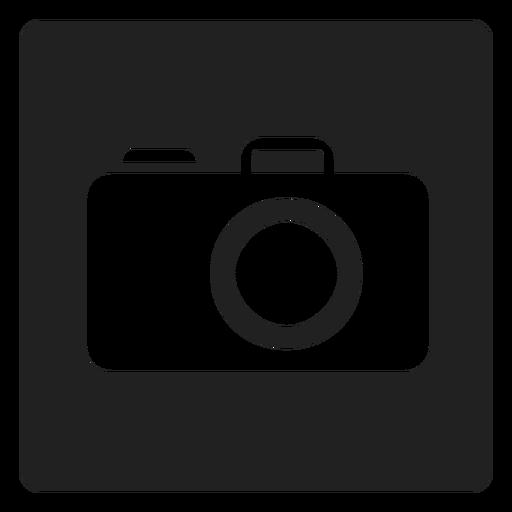 Ícone quadrado de câmera portátil Transparent PNG